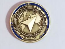 Jeppesen Driving Innovation Data Solutions Optimized Missions Challenge Coin NEW