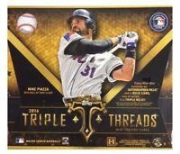 🔥⚾️ 2016 Topps Triple Threads Hobby Baseball Box Break- 1 Random Team ⚾️🔥