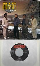 BIG COUNTRY  Look Away  promo 45 with PicSleeve