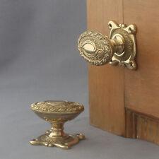 Art Nouveau Oval Door Knobs