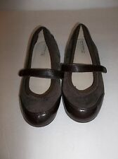 Women's Sperry Top-Sider Tally Brown Leather Flats US Size 4 M EUR Size 36