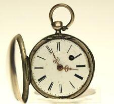 Spindel Schlüssel Taschenuhr Uhr silver pocket watch clock fusee herren uhren