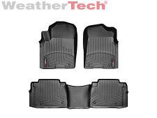 WeatherTech Floor Mats FloorLiner for QX56/QX80/Armada - 1st & 2nd Row - Black