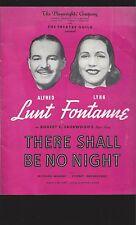 18 Playbills/Programs Lunt Fontanne Cohan Nixon Theatre Pittsburgh Pennsylvania