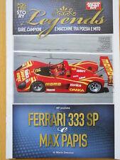 Poster Story Legends - FERRARI 333 SP MAX PAPIS  [C48]