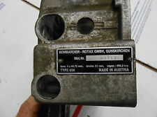1997 Skidoo Mach 1 700: MOTOR END CAP with MOTOR I.D. PLATE