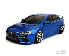 Mst Ms-01D 1/10 Scale 4Wd Rtr Drift Car (2.4G)(brushless) Evo X (Blue)