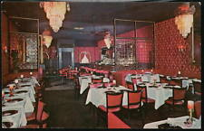 NYC NY Gatsby's Restaurant Vintage City Postcard