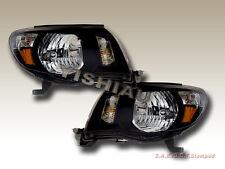 05 06 07 08 Toyota Tacoma Headlights JDM Black NEW