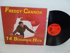 FREDDY CANNON 14 Booming Hits LP Rhino RNDF 210 Pallisades Park