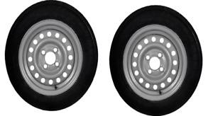 Brenderup 1150 1205 Trailer Wheel x2 13 inch 145/80 R13 £149 Two Wheels Pr 2021