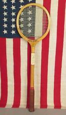 Vintage Spalding Kro-Bat Wood Squash Racquet Championship Play Wall Decor Nice!