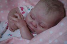 CUSTOM MADE PREEMIE Reborn doll ooak lifelike Baby vinyl art ARTIST KAELIN