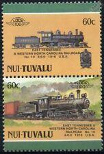 1916 ETWN Tweetsie Railroad No.10 4-6-0 ET&WNC North Carolina USA Train Stamps