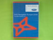 DVD NAVIGATION SOFTWARE FORD EUROPA 2008 NX FOCUS KUGA GALAXY MONDEO C-MAX S-MAX