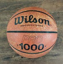 New listing Vintage Rare Wilson PRO 1000 Cast Bilt Basketball B1256 Indoor/Outdoor