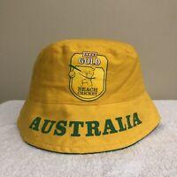Dennis Lillee Signed Autograph XXXX Gold Beach Cricket Mens Bucket Hat