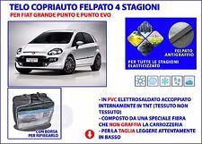Copriauto impermeabile Fiat Punto EVO telo auto felpato copri auto PVC Taglia M