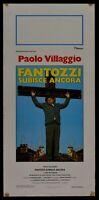 Plakat Fantozzi Paolo Dorf Fantozzi Erfährt Anker Mazzamauro N05