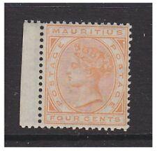 Mauritius - 1879/80, 4c Orange (Wmk Crown CC) stamp - L/M - SG 93