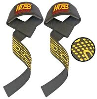FITNESS BODYBUILDING WEIGHT LIFTING BAR WRIST SUPPORT STRAP CROSSFIT HARD WRAPS