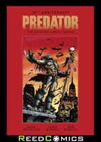 30th ANNIVERSARY PREDATOR ORIGINAL COMICS SERIES 1989-1996 HARDCOVER (184 Pages)