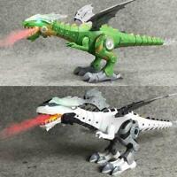 Christmas Gift Walking Dragon Toy Fire Breathing Water Dinosaur Best Toy M2 Z0Y7