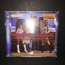 Ride Da Riddims Summer Selection 2 CD 2CD DJ Dancehall USED VERY GOOD