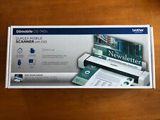 Brother Duplex Compact Mobile Document Scanner DS740D