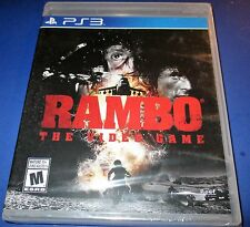 Rambo: The Video Game - Playstation 3 - PS3 - Factory Sealed! - Free Shipping!