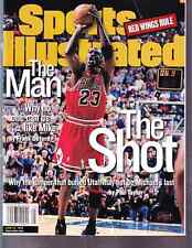 June 22, 1998 Michael Jordan Chicago Bulls Sports Illustrated NO LABEL
