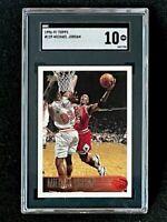 1996-1997 Topps #139 Michael Jordan SGC 10