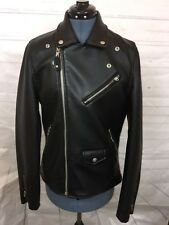 members only  jacket,NWOT Faux leather, women sz Small, Black
