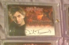 Harry Potter Barty Crouch Jr David Tennant Auto Autograph Goblet of Fire Dr Who