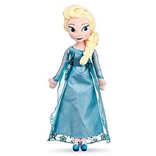 "Disney~ELSA~Plush~20""~FROZEN~Disney Store Exclusive~NWT"