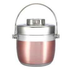 2 Layer Stainless Steel Thermo Insulated Thermal Food Container Bento Lunch Box
