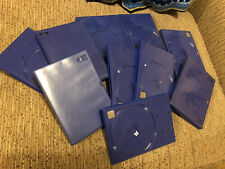 10 X Blue PS2 Game Cases