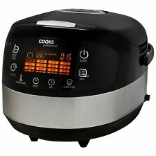 Cooks Professional Electric Digital Multi Cooker 14 in 1 1000W 5L Removable Pot