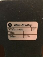 Allen-Bradley N-3412-2-H04Aa Ser B with cables and Ultra 3000