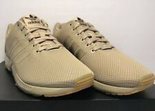 Adidas Womens Size 11 ZX Flux Hemp Tan Athletic Running Shoes New
