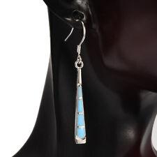 Women Silver Earrings Coloured Glaze Bohemian Dangle Drop Hook Earring Jewelry