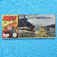 "RALF Nr 102  Der Scout  ""GETÄUSCHT!"" Piccolo Lehning 1961 Z2"
