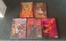 vintage death metal dvds-napalm death-rammstein-ministry-5 DVD lot