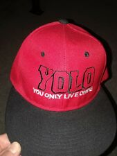 mens yolo you only live once baseball cap one size fits all