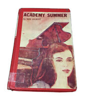 Vintage Academy Summer By Nan Gilbert 1961 1st Edition ExLib
