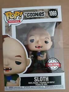 Funko Pop Movies The Goonies Sloth With Ice Cream 1069 New Special Edition
