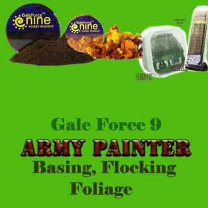 Gale Force 9 & Warlord Scenics Basing Scenery Flocking Tuft