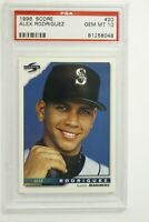 1996 Score Alex Rodriguez #20 PSA 10 Gem Mint Pop 37