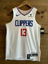 Los Angeles Clippers Paul George AUTHENTIC NIKE Jersey With Patch! Association