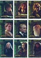 Harry Potter Chamber Of Secrets Complete Puzzle Foil Chase Card Set R1-9